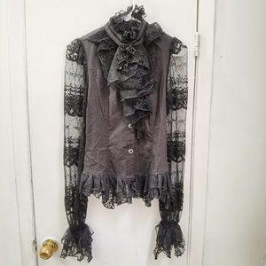 Lacy Gothic Lolita Blouse